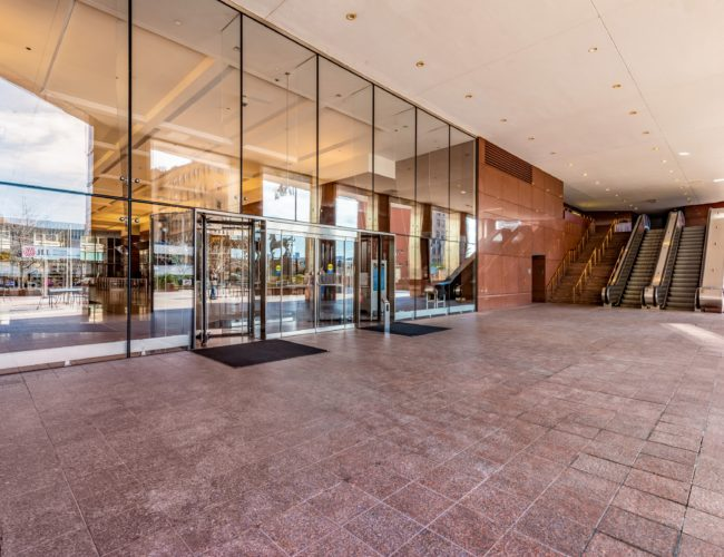 Financial Entrance Glass Wall S